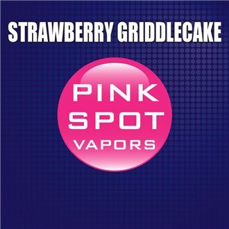 Pink Spot Flavours (Strawberry Griddlecake)