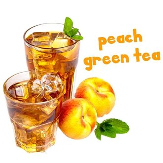 Pink Spot Flavours (Peach Green Tea)