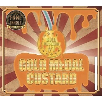 10ML FAME INHALE Flavour (Gold Medal Custard)