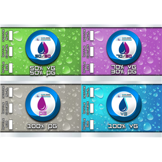 410ML CO Shortfill Base (500ML Flaske)