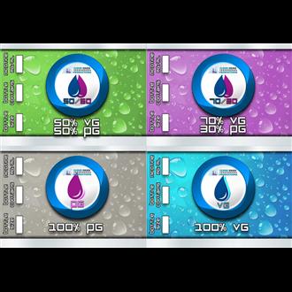160ML CO Shortfill Base (500ML Flaske)