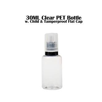 30ML Clear PET Bottle -...